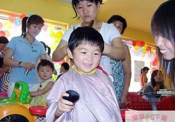 宝贝不哭儿童理发店加盟