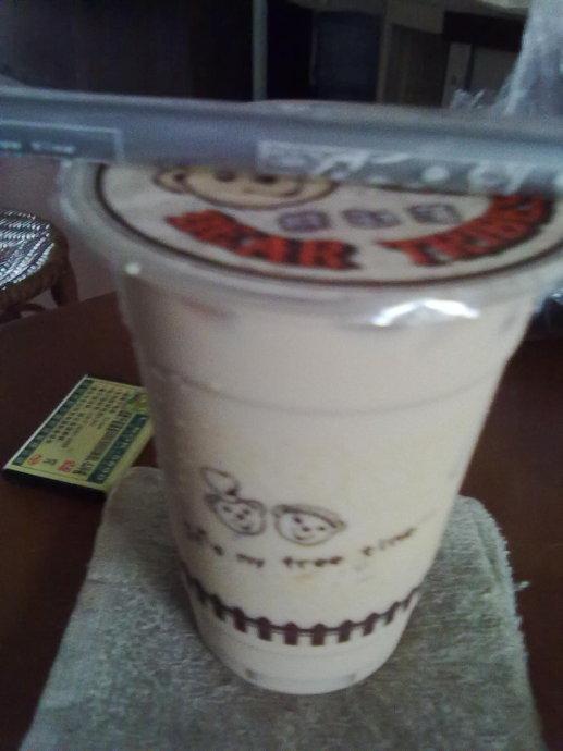 熊部落奶茶