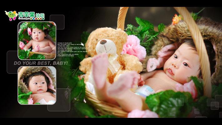 青苹果儿童摄影加盟