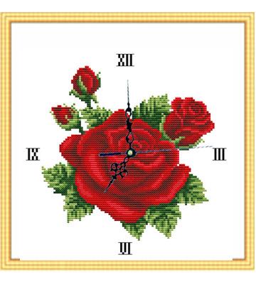 玫瑰佳人十字绣加盟