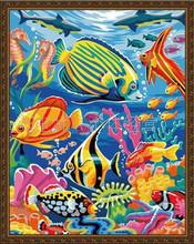手绘世界数字油画加盟